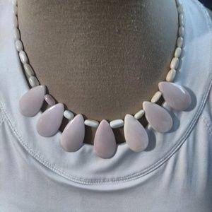 Jewelry - Pink Ladies gemstone necklace